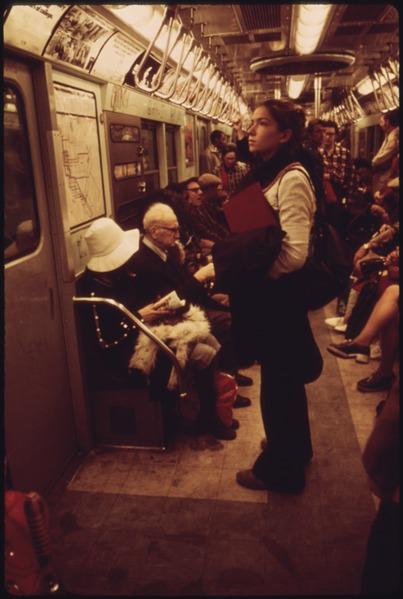 subway passengers NewYork City